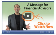 Message for financial advisors